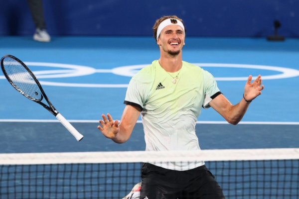 Zverev, the strongest, beats Khachanov in 2 straight sets, won the Olympic gold