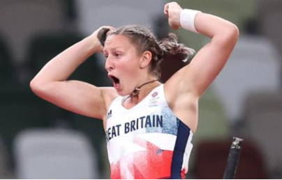 Holly Bradshaw claimed Britain's second track and field medal in Tokyo