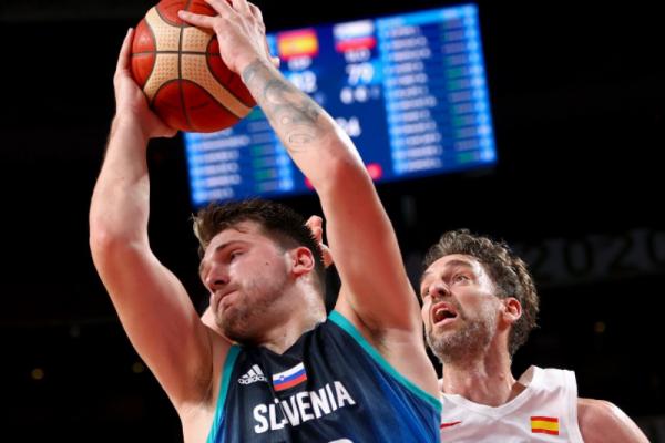 Slovenia beats Spain to win Olympic men's basketball